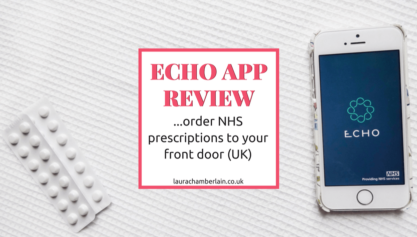 Echo NHS prescription app review