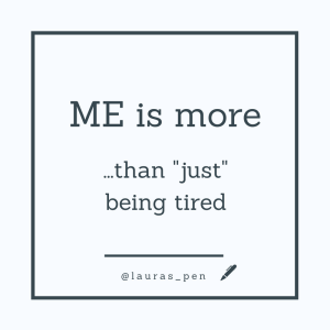 ME is more than just being tired