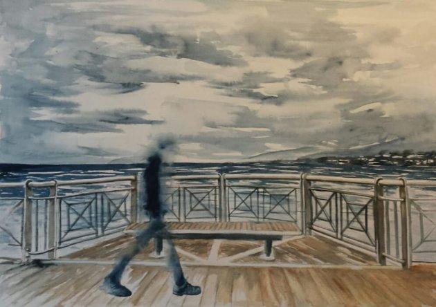 Passeggiata a mare