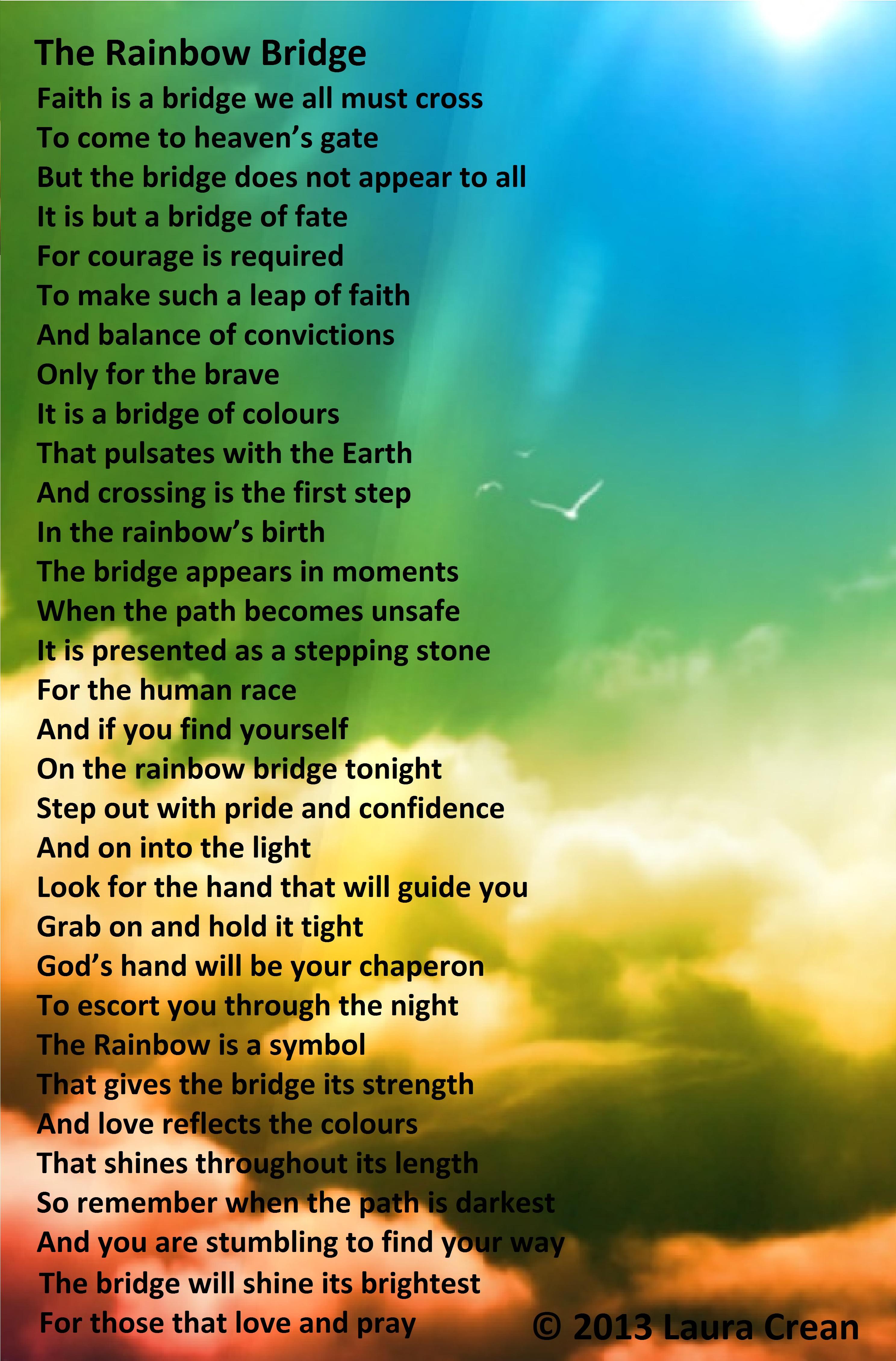 The Rainbow Bridge By Laura Crean