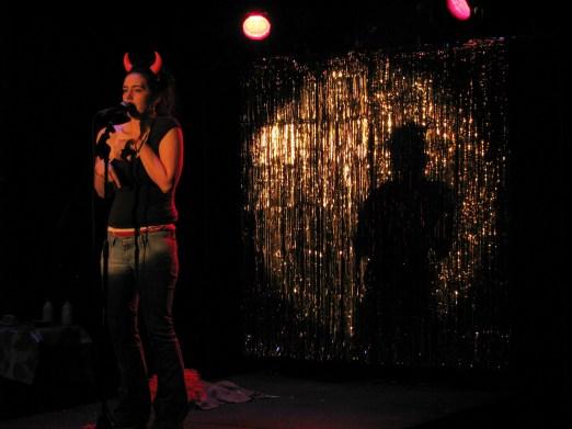 Laura Dee Milnes, Number 23 (2009). Liz Wilks as Janine. Photo by Milda Sokolovaite