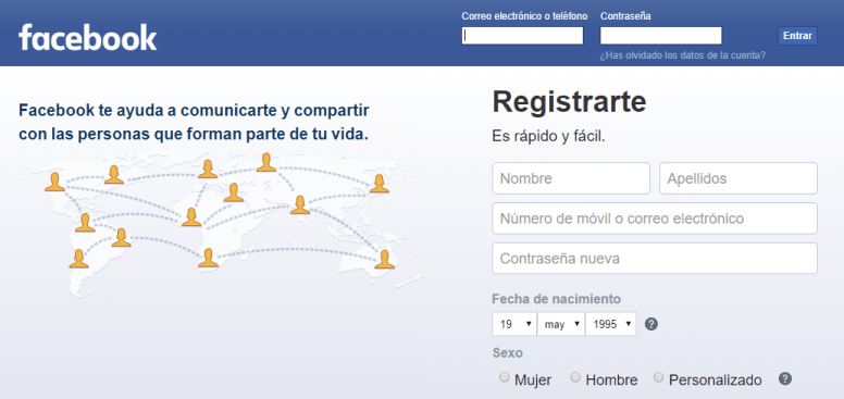 crear un perfil en facebook paso a paso