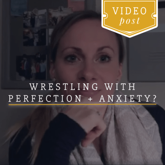 Struggling with perfection + anxiety this holiday_