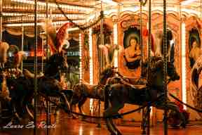 Carousel at Christmas in Florence