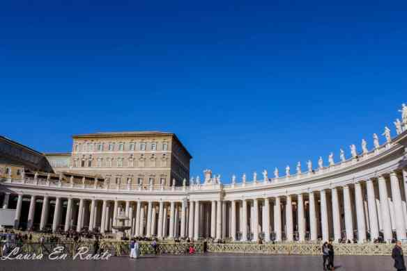 The Colonnades, St. Peter's Square, Vatican