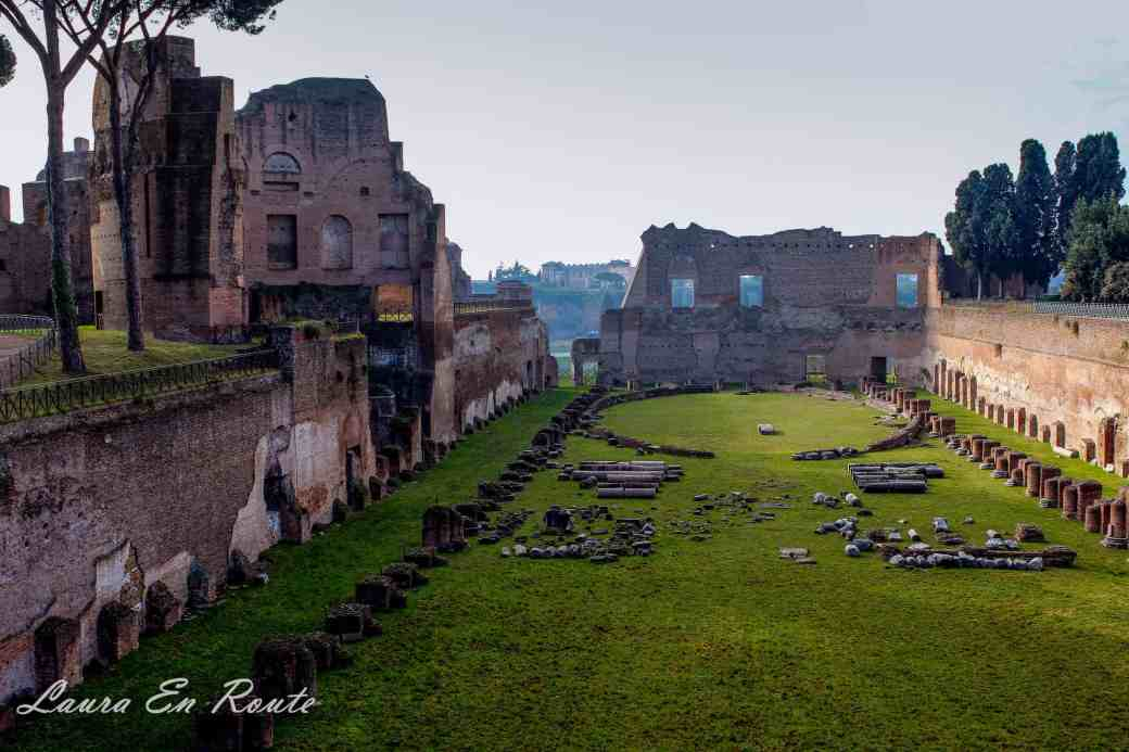 Stadium of Domitian, Palatine Hill, Rome