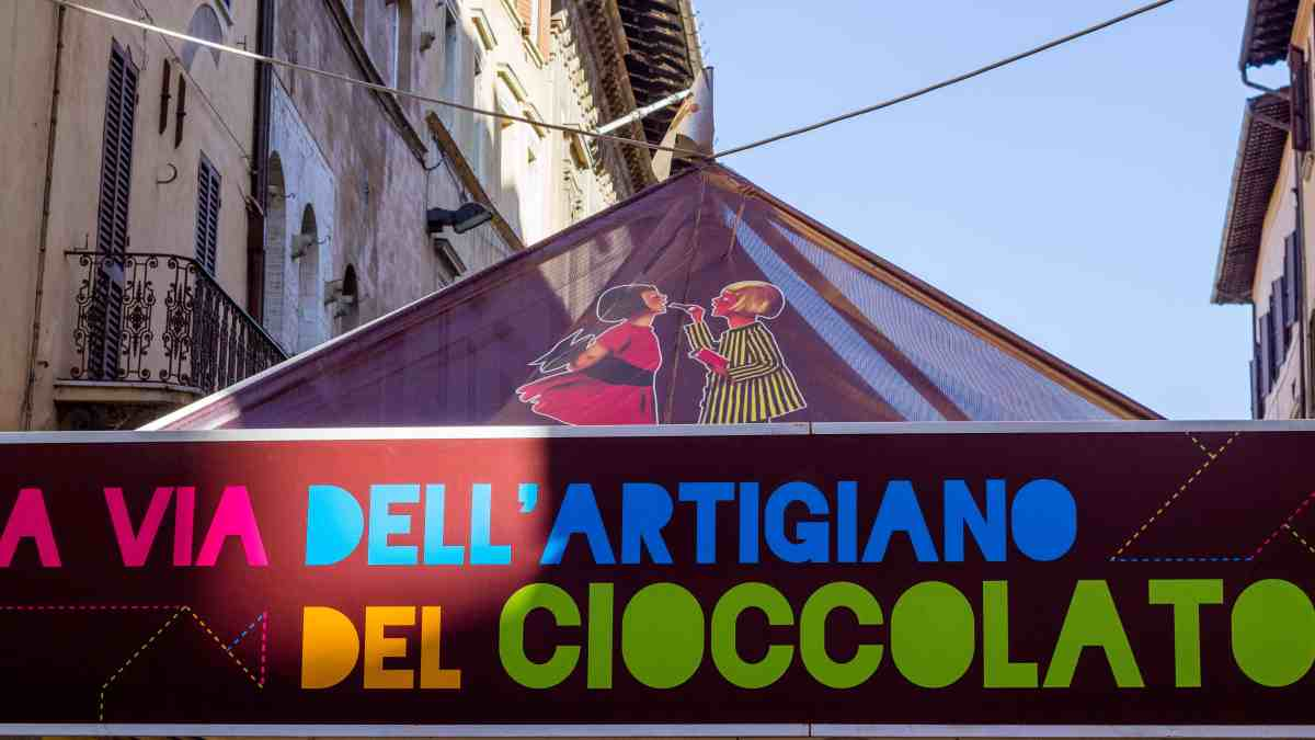 Eurochocolate: The Perugia Chocolate Festival