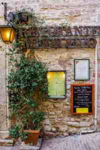 Eat at Ristorante Medio Evo, Assisi - www.lauraenroute.com
