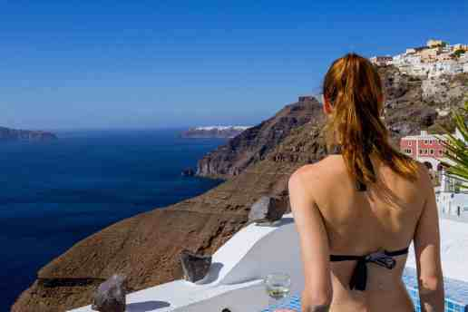 Honeymoon in Santorini - www.lauraenroute.com