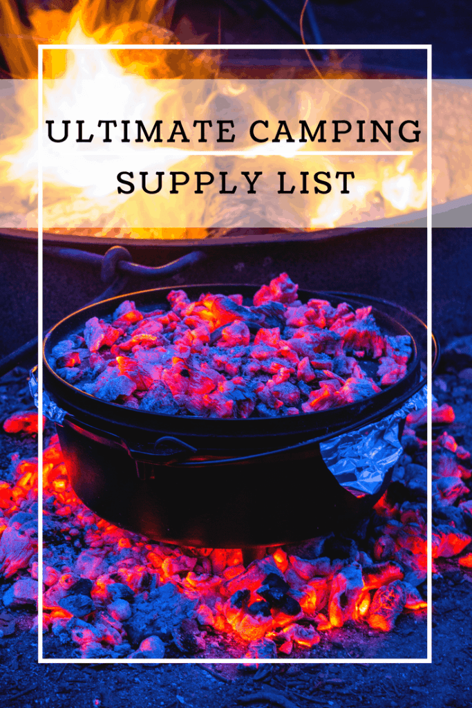 Ultimate Camping Supply List - www.lauraenroute.com