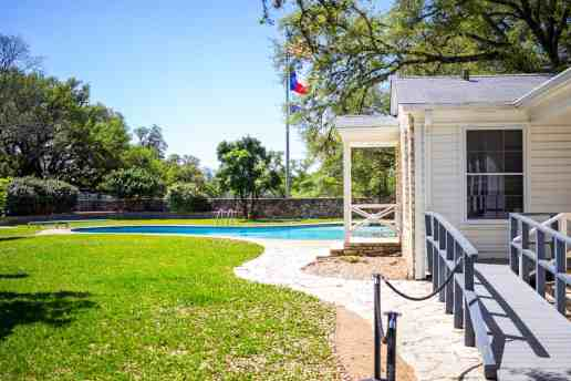 LBJ's Pool at the Texas White House
