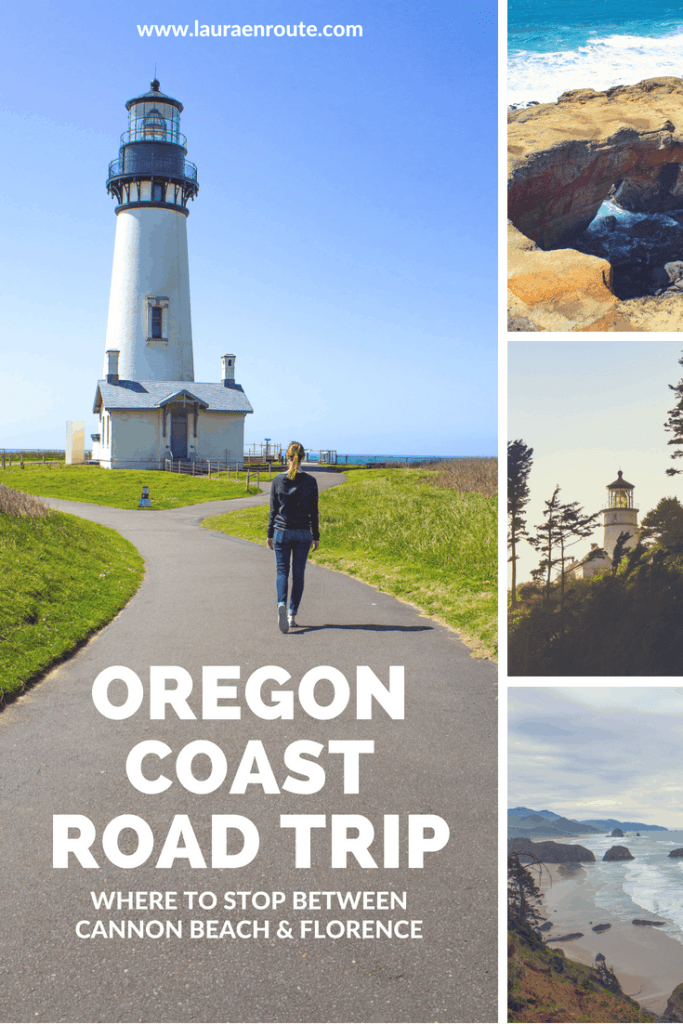 Oregon Coast Road Trip - where to stop between Cannon Beach and Florence