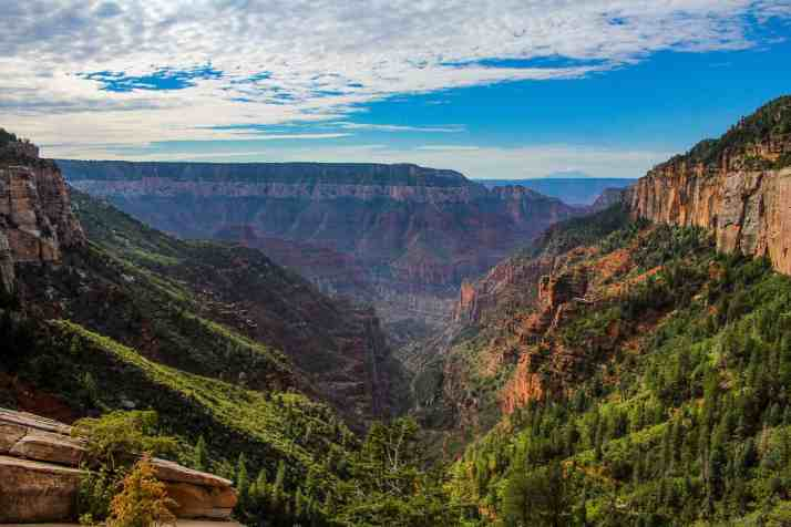 Coconino Overlook, North Kaibab Trail, Grand Canyon