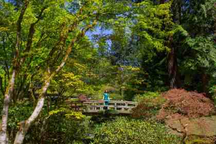 Portland Japanese Garden - How to Spend a Long Weekend in Portland, OR - www.lauraenroute.com