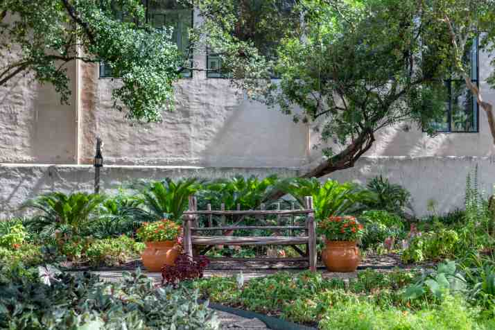 Gardens at Spanish Governor's Palace - History in Downtown San Antonio, Texas