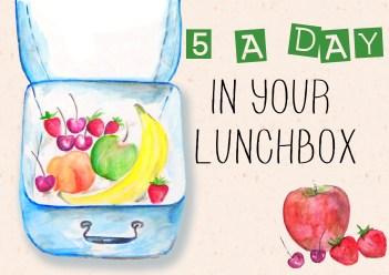 Fruit lunch idea box 1