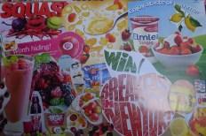 Mood board fruit