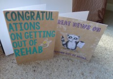 Rehab cards