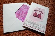 Boob job and envelope sample
