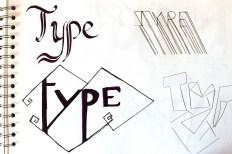 Geometric style shapes