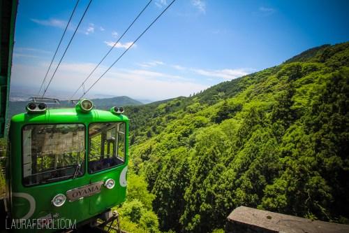 Mt. Oyama cablecar