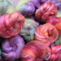 kardierte Wolle