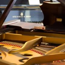 Klavier und Flügel