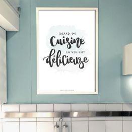 Láminas para cocinas La Vie est Delicieuse