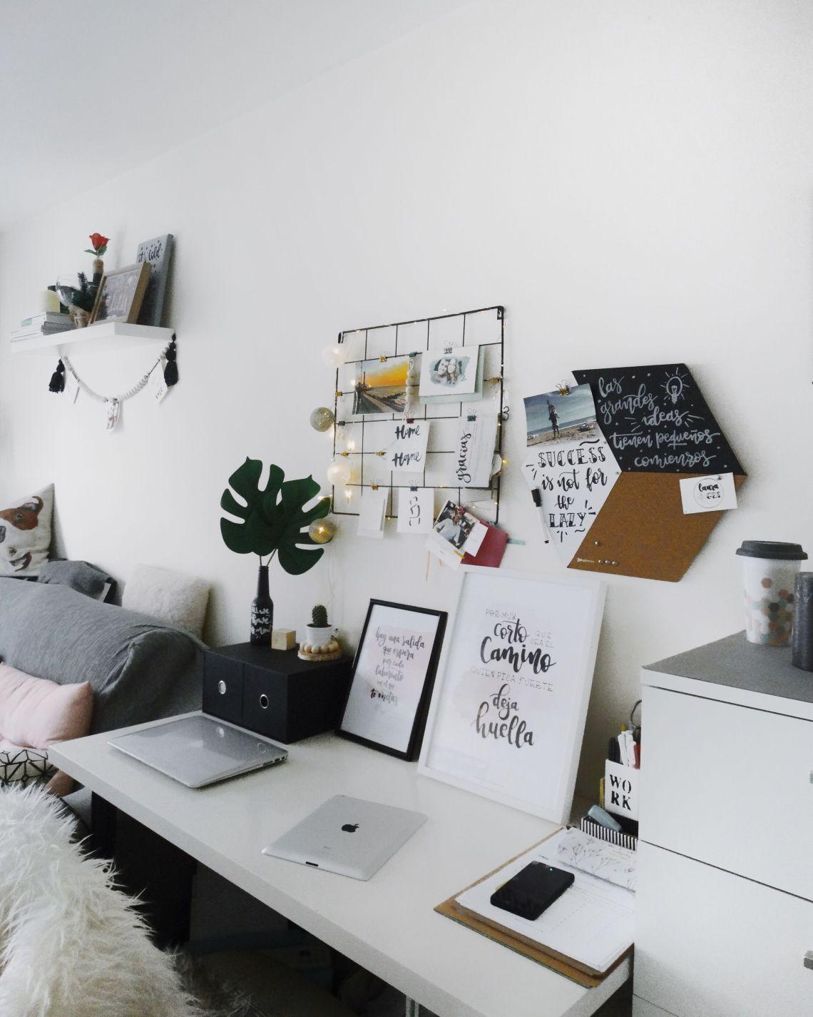 como decorar un escritorio