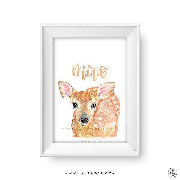 laminas de animales personalizadas