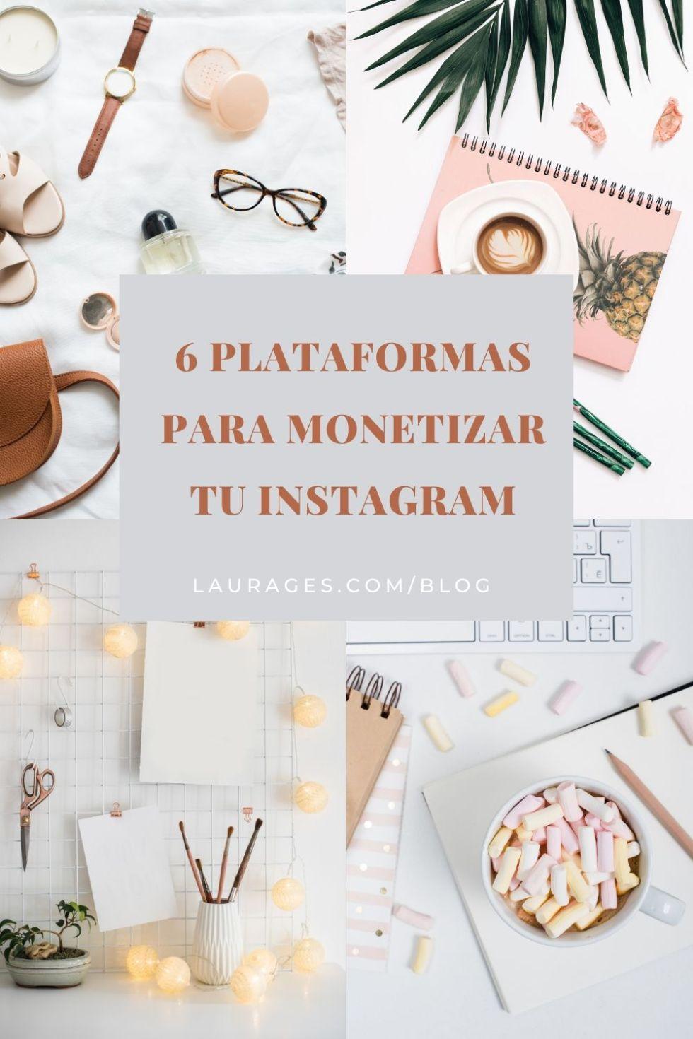 Plataformas para monetizar Instagram