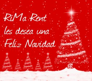Felicitación de Navidad RiMa Rent