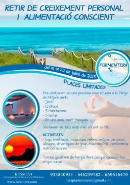 Flyer Retiro a Formentera Kosment