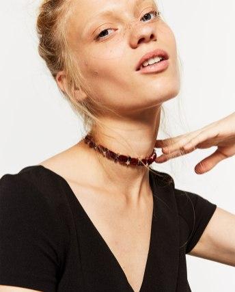 Zara Velvet Choker