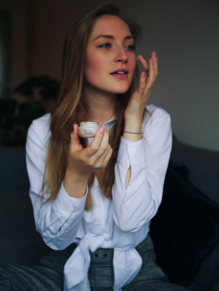 Meine Augenpflege im Winter Shiseido