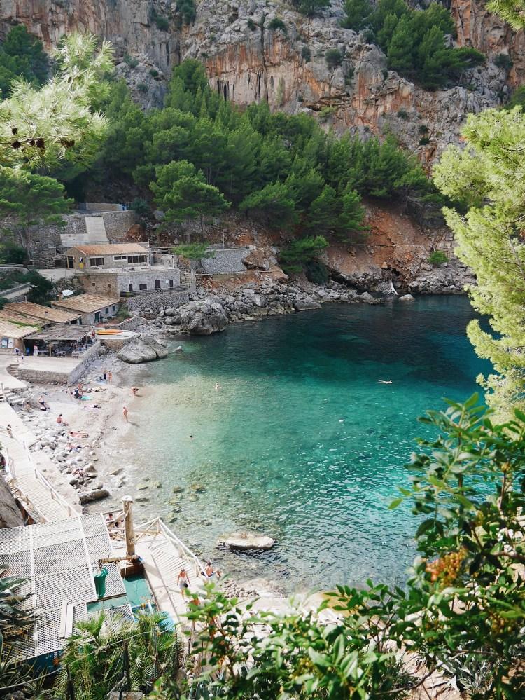 Die drei schönsten Buchten Mallorcas Cala de Sa Calobra