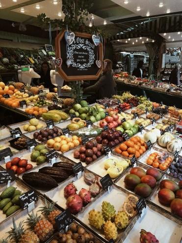 Viktualienmarkt Exotische Fruechte