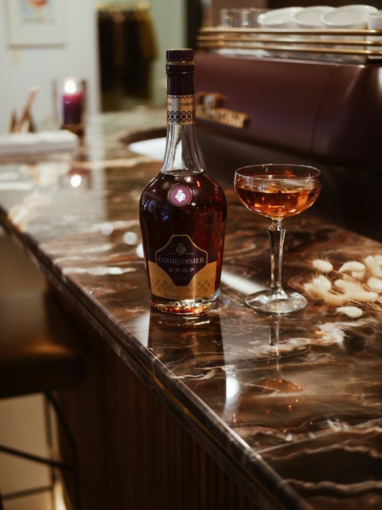 Courvoisier Champagner Cocktail