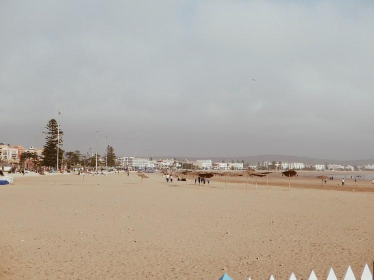 Strandspaziergang am Meer Essaouira