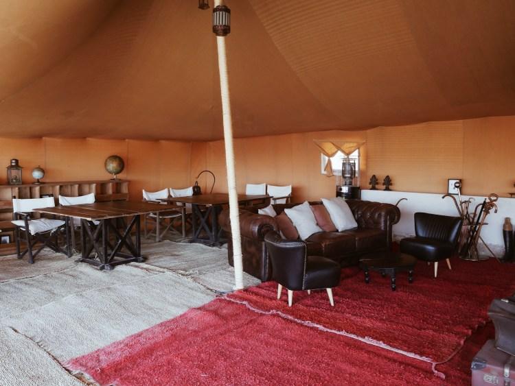 Dining Room Scarabeo Camp Agafay Desert