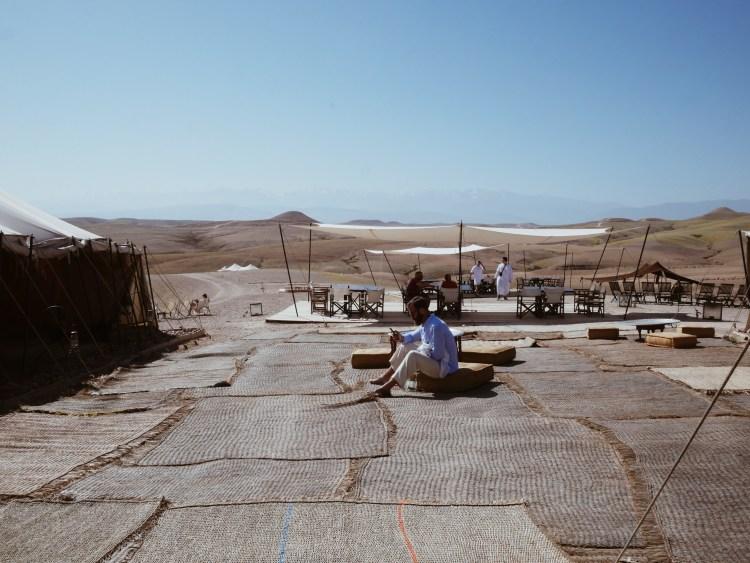 Scarabeo Camp Agafay Desert Morocco