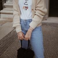 Das perfekte Basic-Outfit für kühlere Sommertage