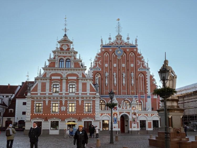 Schwarzhaeupterhaus Riga, Lettland