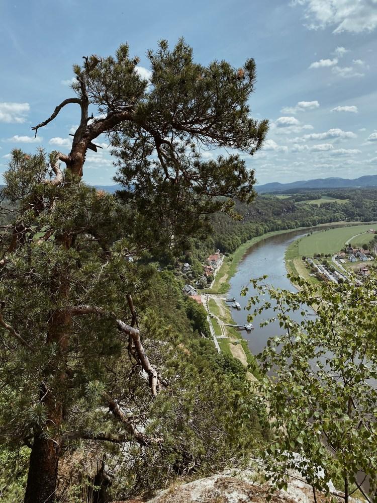 Deutschlandreise Elbsandsteingebirge Elbe