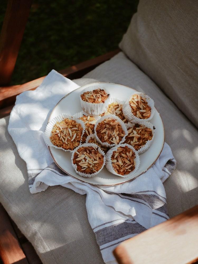 Karotten-Mandel-Muffins
