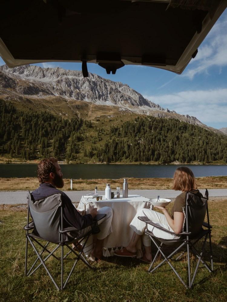 Mit dem Camper an Oesterreichs Seen