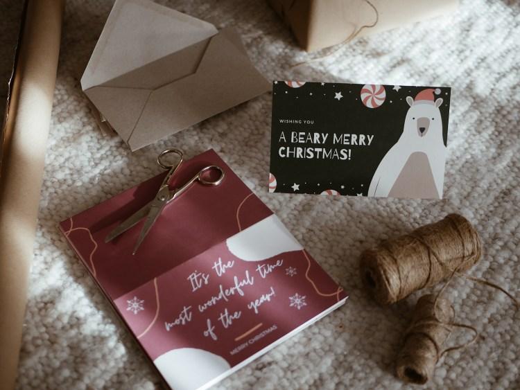 Vistaprint Weihnachtskarten
