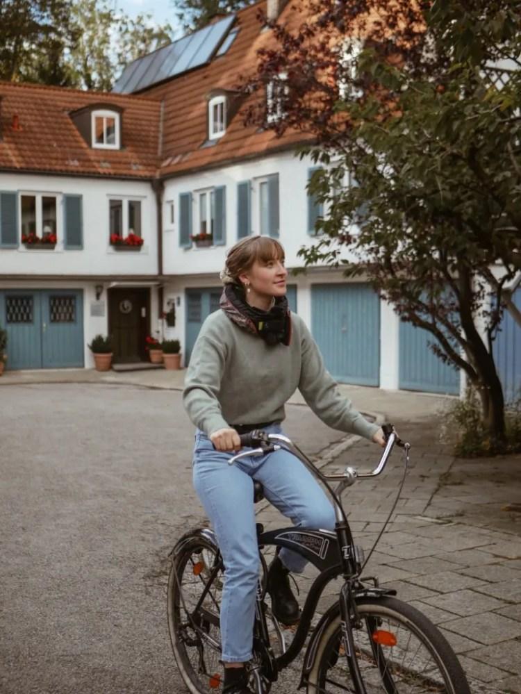 Mit dem Rad die Nachbarschaft erkunden