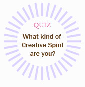 what kind of creative spirit are you? free quiz