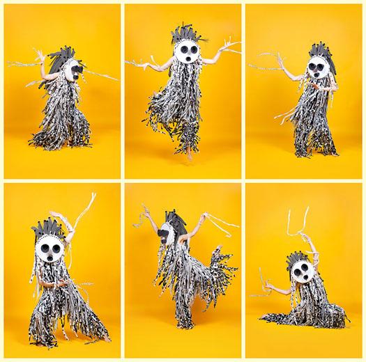 wild dancing creatures